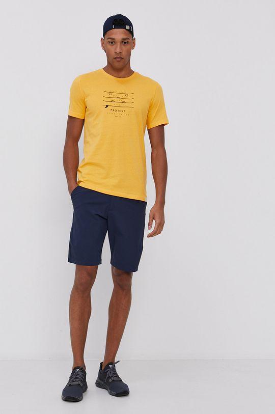 Protest - Tričko žlutá