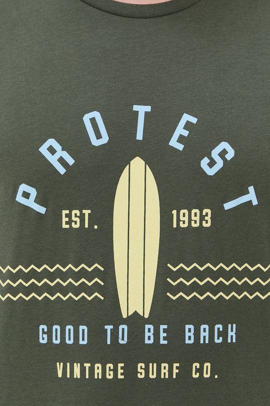 brudny zielony Protest - T-shirt
