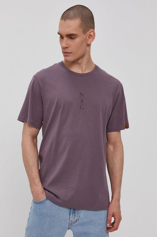 purpurový Protest - Tričko Pánsky