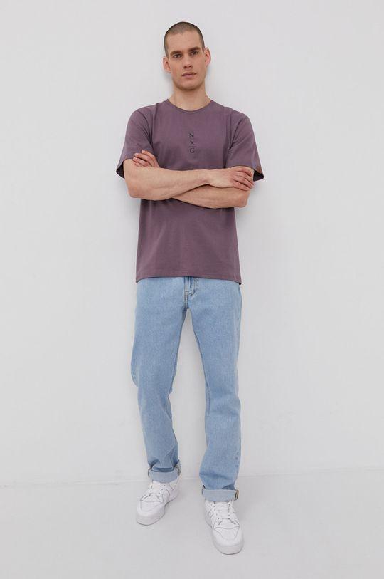 Protest - Tričko purpurový