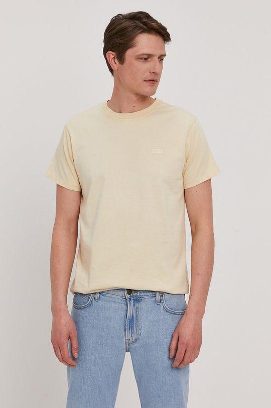 žltá Guess - Tričko Pánsky
