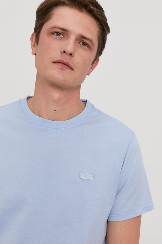 jasny niebieski Guess - T-shirt