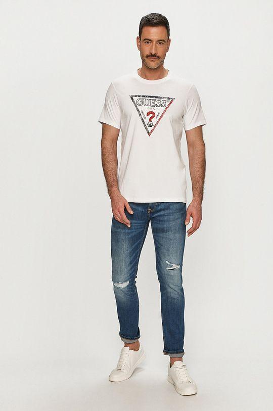 Guess - Tričko bílá
