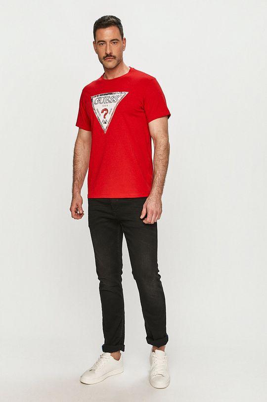 Guess - Tričko červená