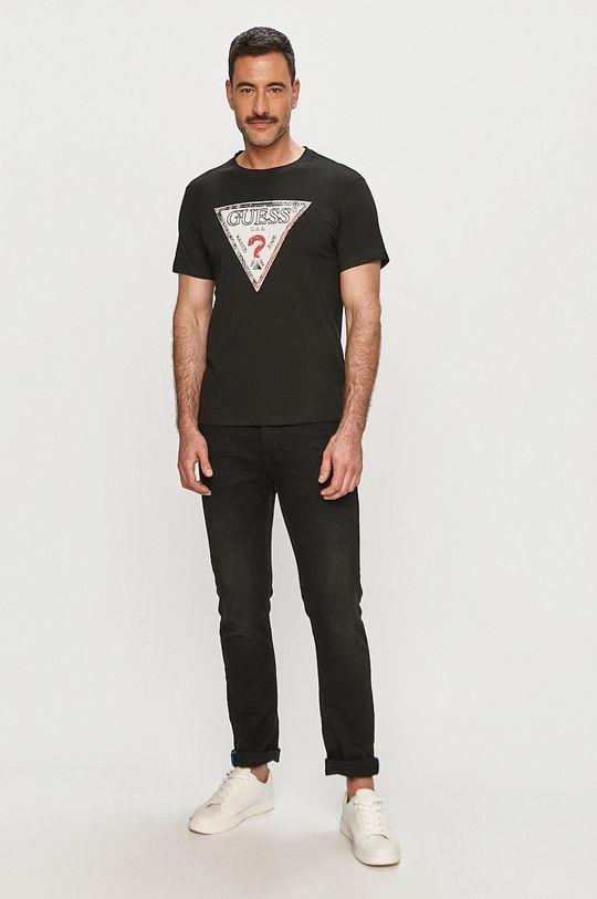 Guess - Tričko černá