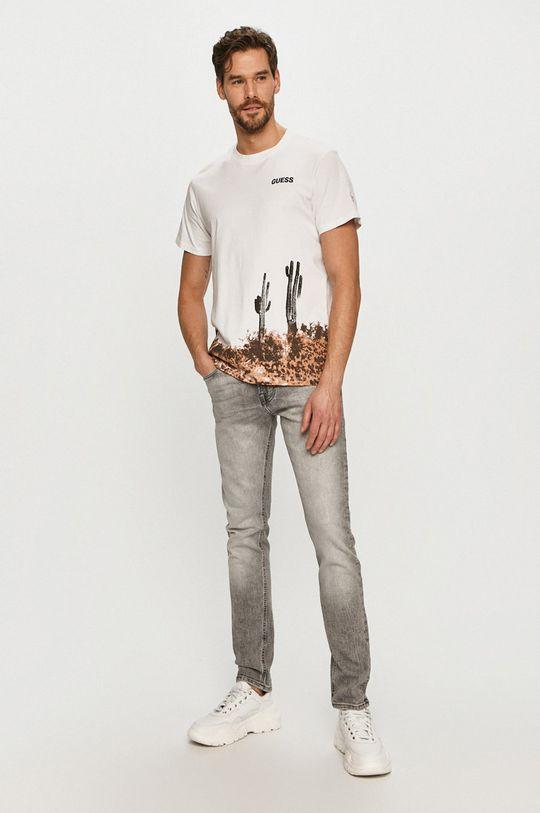 Guess - T-shirt 100 % Bawełna