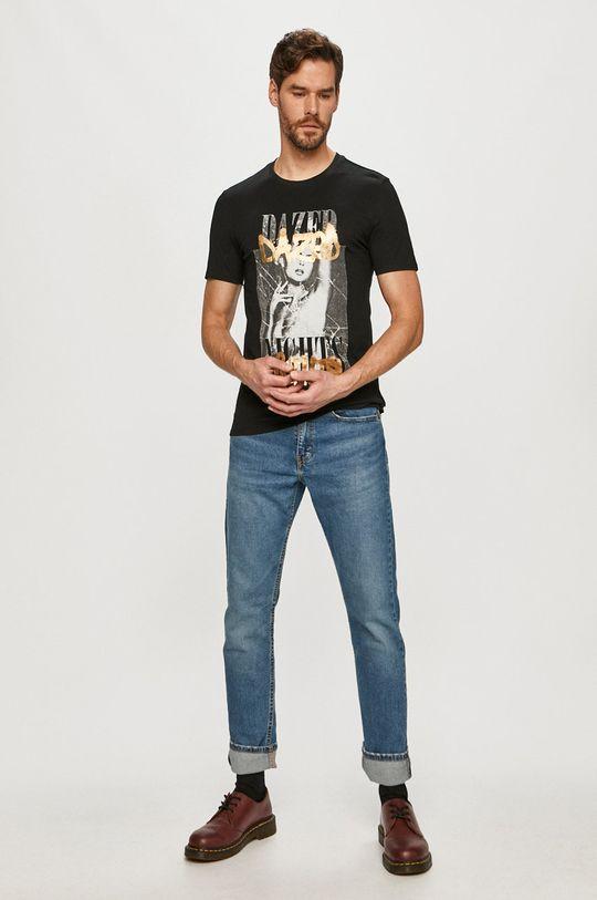 Guess - Tričko čierna