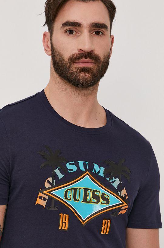 tmavomodrá Guess - Tričko
