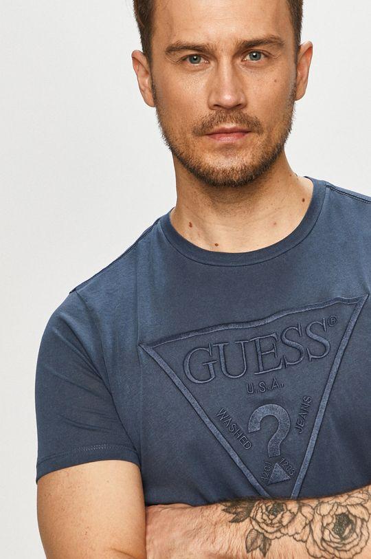 svetlomodrá Guess - Tričko