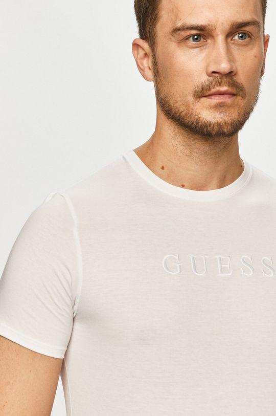 biela Guess - Tričko Pánsky