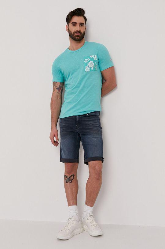 Guess - T-shirt miętowy