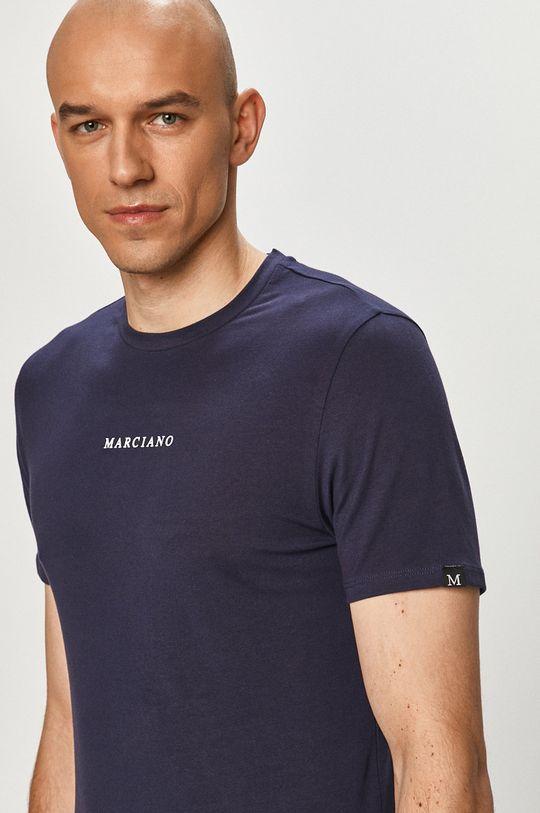 granatowy Marciano Guess - T-shirt Męski