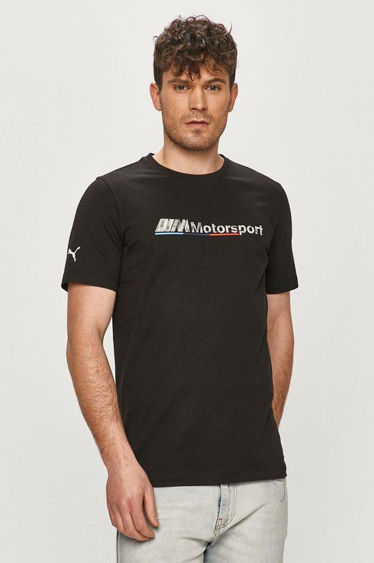 czarny Puma - T-shirt x BMW Męski