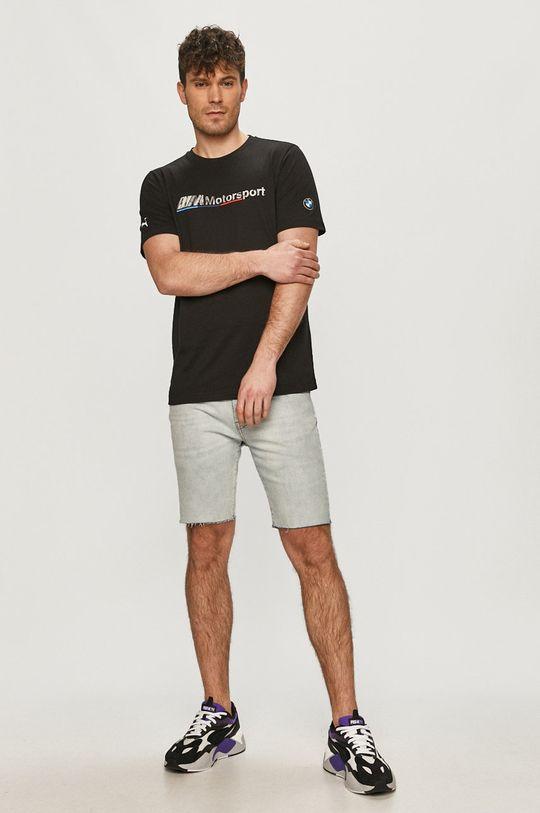 Puma - T-shirt x BMW czarny