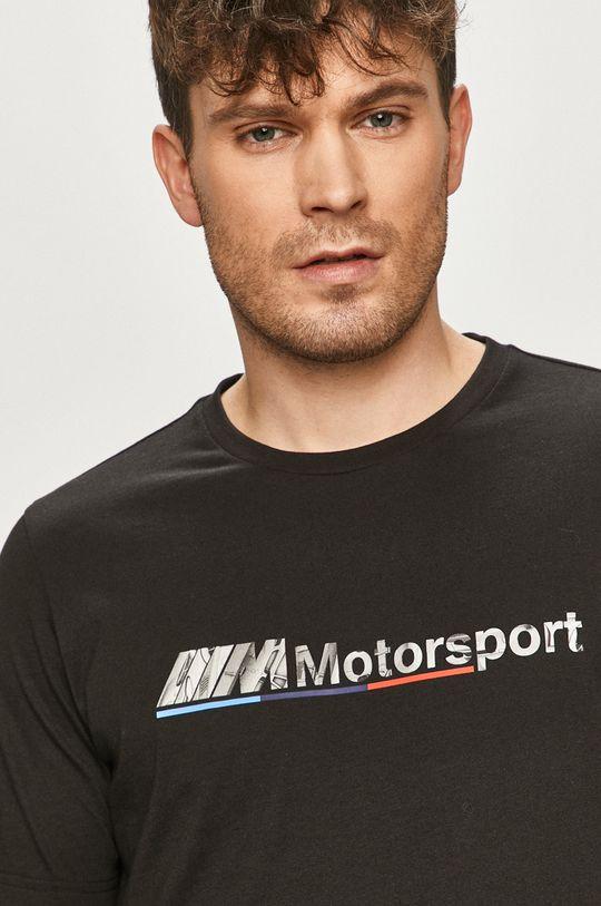 czarny Puma - T-shirt x BMW