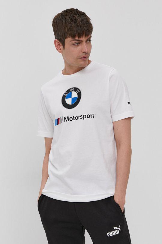 bílá Puma - Tričko x BMW Pánský
