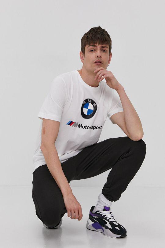 Puma - Tričko x BMW bílá