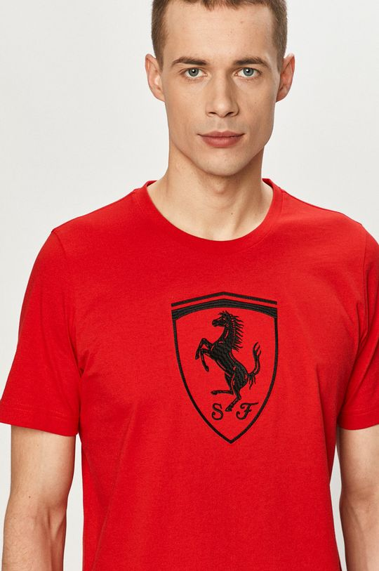 ostry czerwony Puma - T-shirt