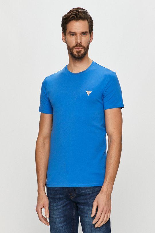 modrá Guess - Tričko Pánský