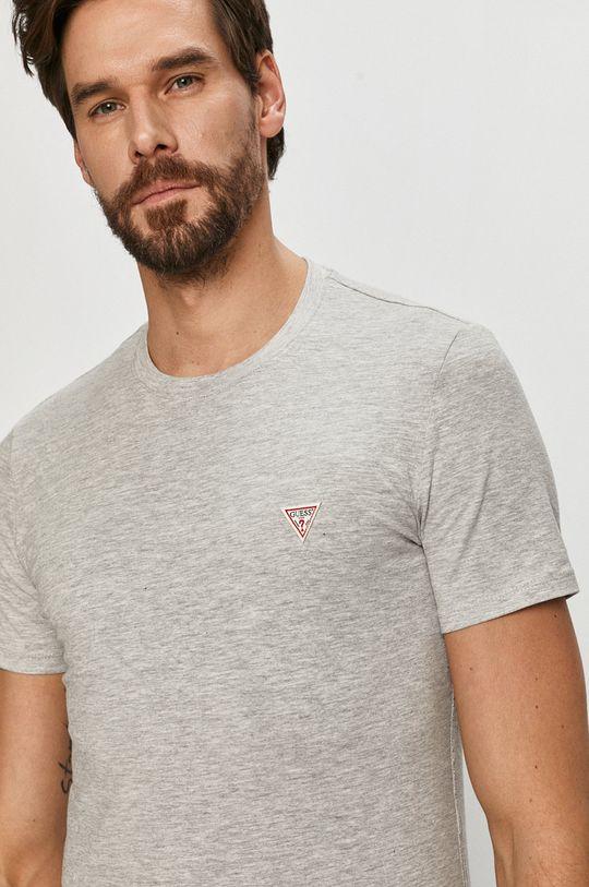 szary Guess - T-shirt