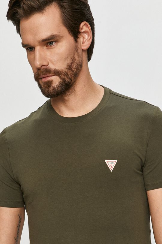 oliwkowy Guess - T-shirt