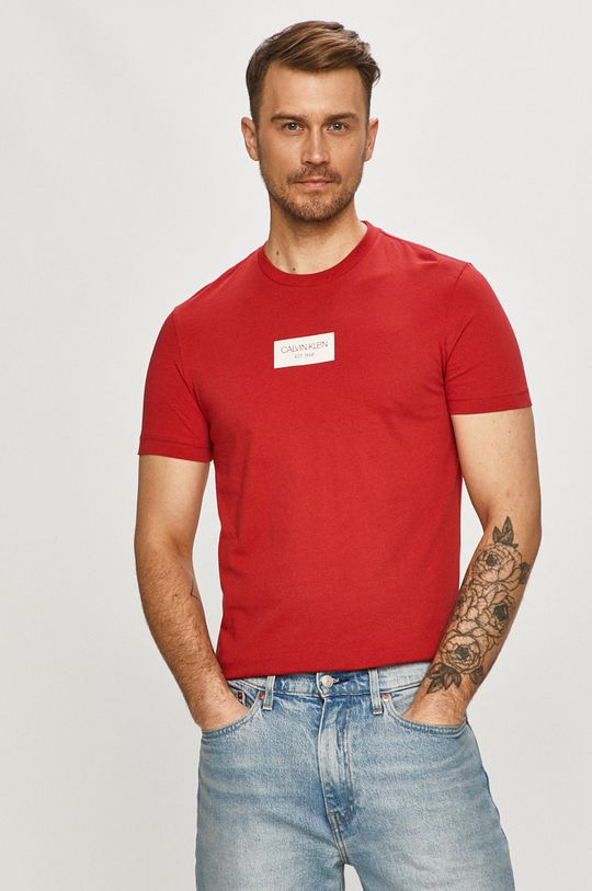 rosu Calvin Klein - Tricou De bărbați