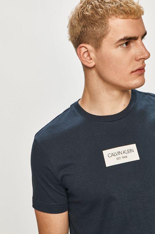 tmavomodrá Calvin Klein - Tričko