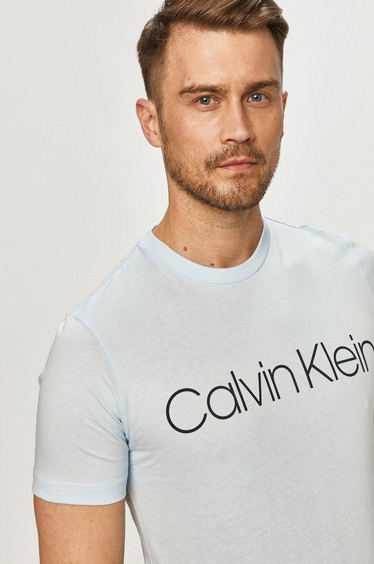 svetlomodrá Calvin Klein - Tričko Pánsky