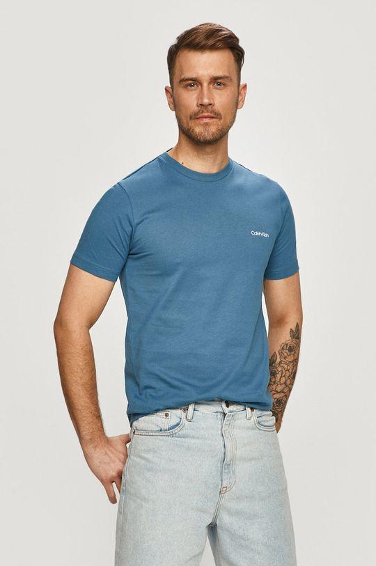 modrá Calvin Klein - Tričko Pánský