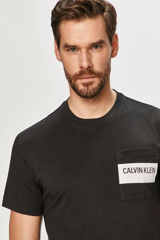 čierna Calvin Klein - Tričko Pánsky