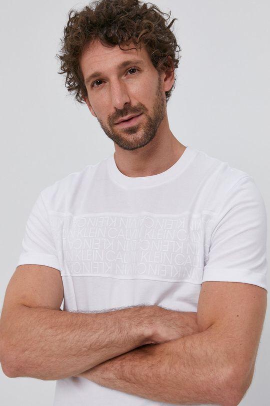 alb Calvin Klein - Tricou De bărbați