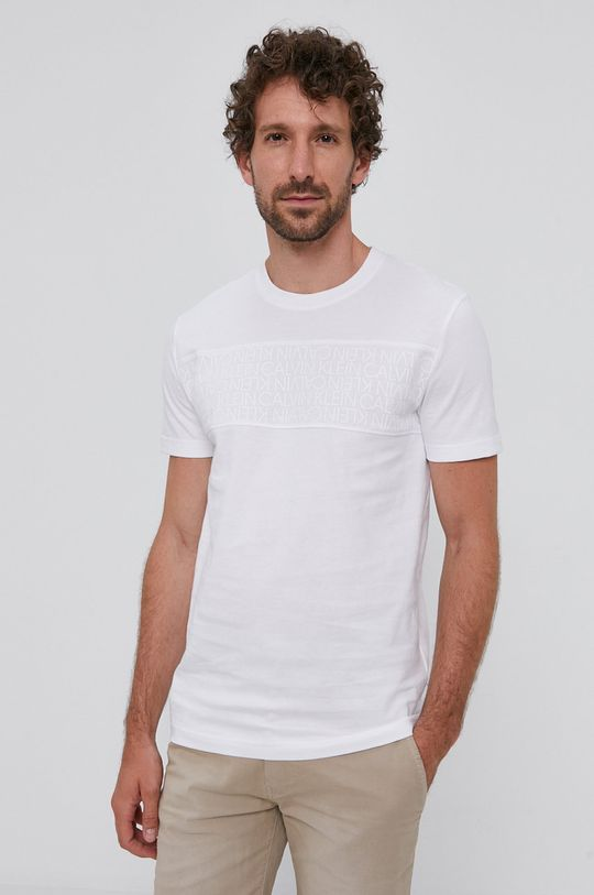 alb Calvin Klein - Tricou