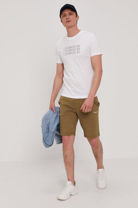 Calvin Klein - T-shirt biały