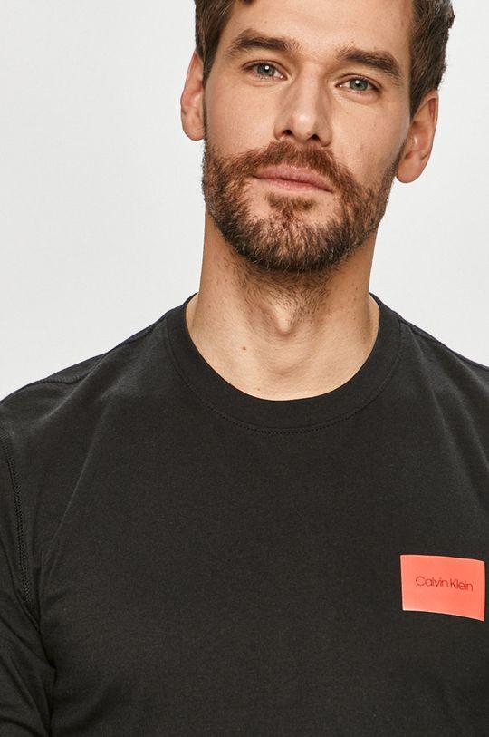 čierna Calvin Klein - Tričko s dlhým rukávom