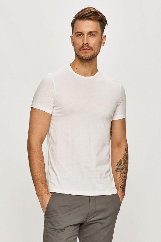 czarny AllSaints - T-shirt (2-pack) Męski