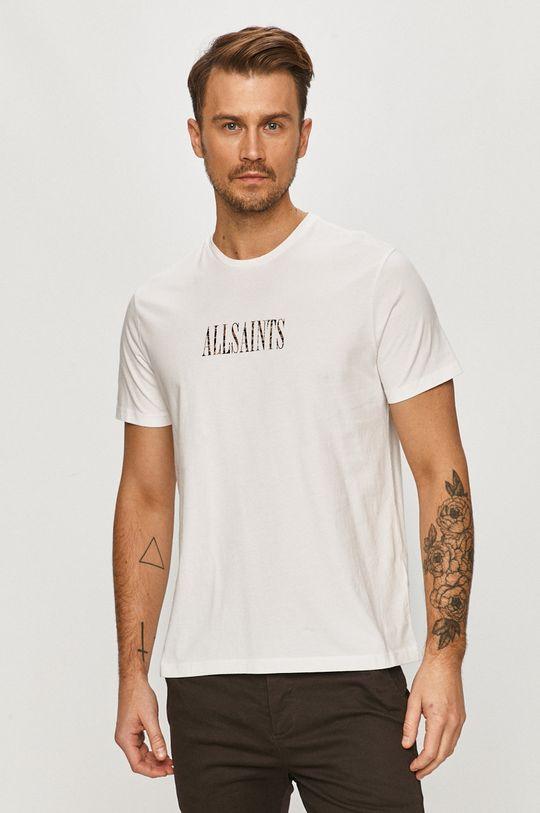 biela AllSaints - Tričko Pánsky
