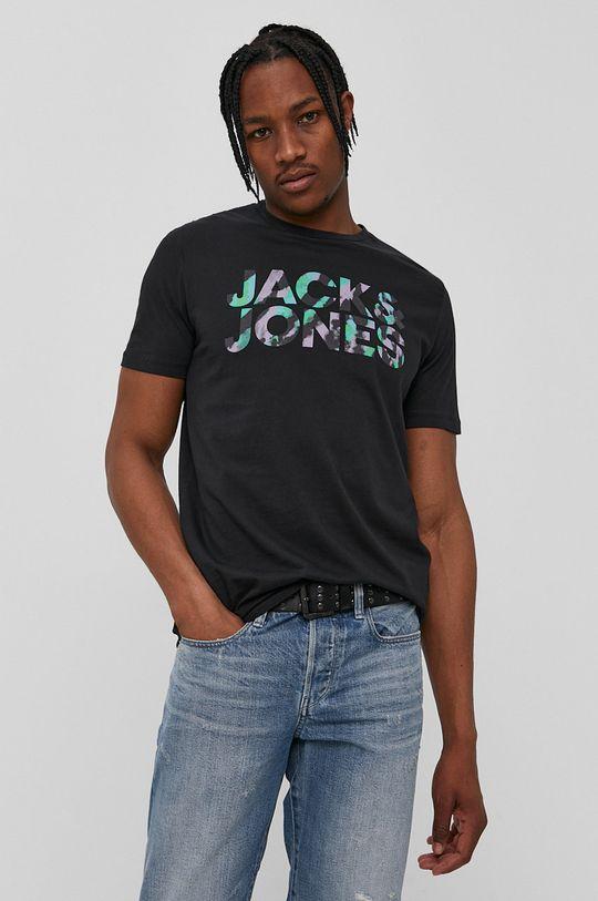 čierna Jack & Jones - Tričko Pánsky