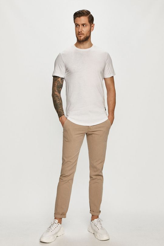 Only & Sons - Tricou (2-pack) alb