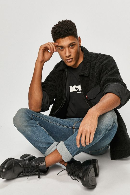 Levi's - T-shirt czarny