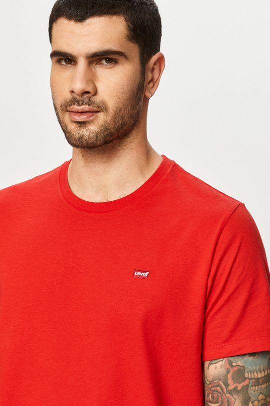 czerwony Levi's - T-shirt