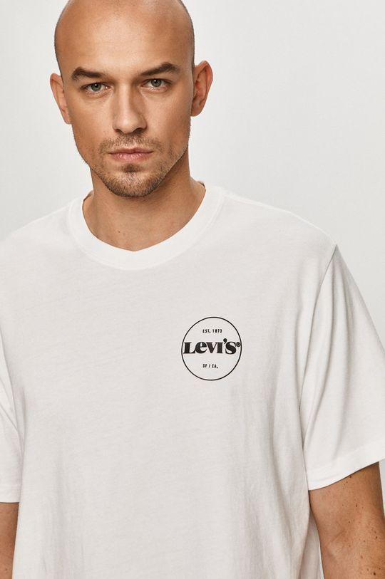 alb Levi's - Tricou De bărbați