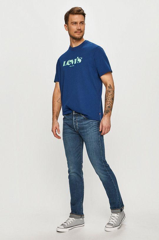 Levi's - T-shirt granatowy