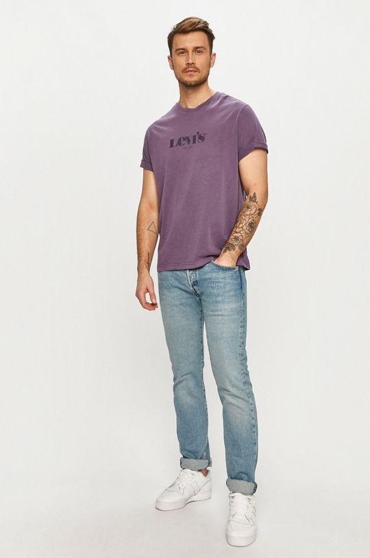 Levi's - Tričko fialová