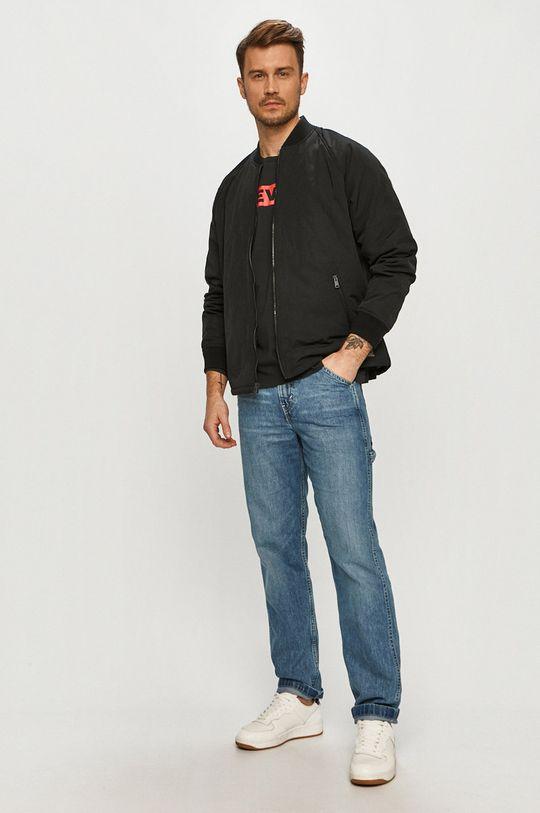 Levi's - Tričko s dlhým rukávom čierna
