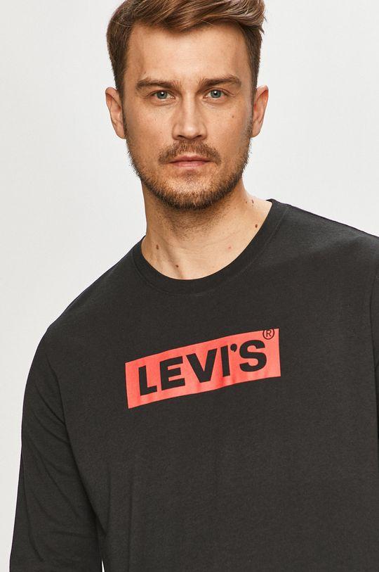 čierna Levi's - Tričko s dlhým rukávom