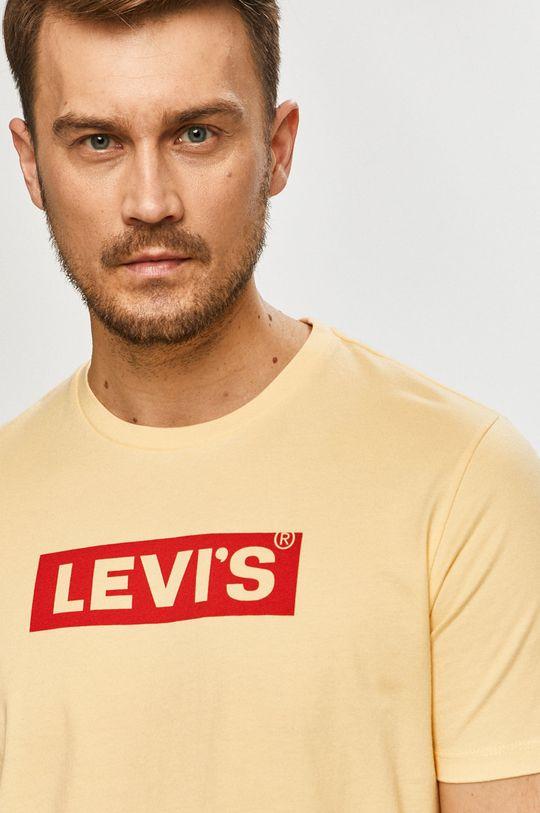 galben Levi's - Tricou De bărbați