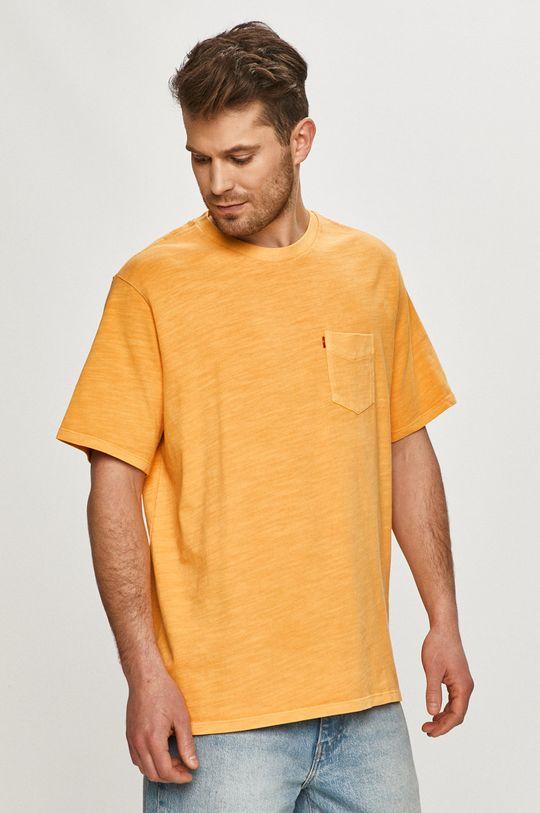 oranžová Levi's - Tričko Pánsky