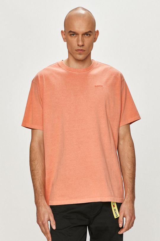 pomarańczowy Levi's - T-shirt Męski