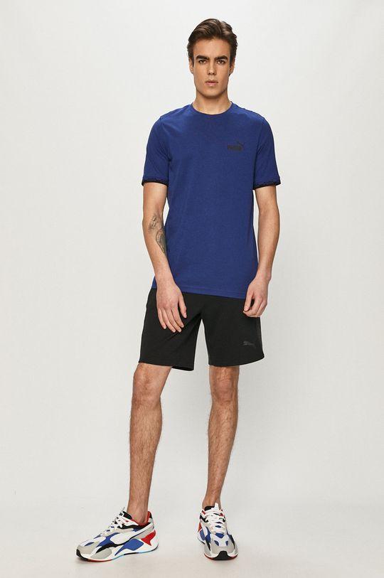 Puma - T-shirt niebieski