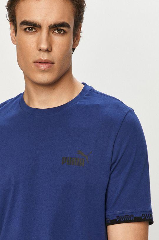 niebieski Puma - T-shirt